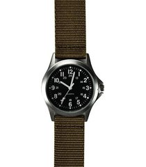 zanheadgear nylon field watch (black/khaki)
