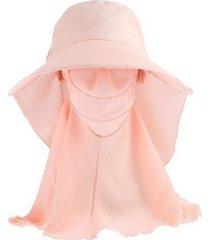 sombrero de sol nuevo de verano para mujer-rosa