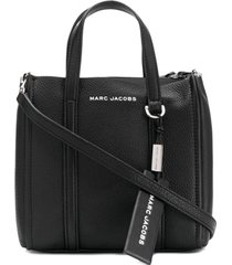 marc jacobs bolsa tote pequena - preto