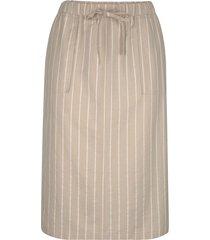 kjol m. collection beige::benvit