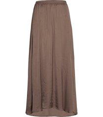 mea maxi skirt lång kjol brun designers, remix