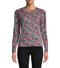 cosmic fleur wool sweater