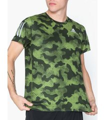 adidas sport performance own the run tee tränings t-shirts green
