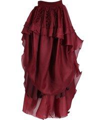 ruffle front skirt