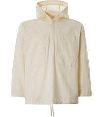 gramicci linen pullover parka | ivory | 21s038-ivr