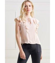 regata mx fashion de chiffon rosie nude