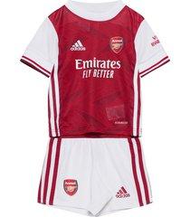 arsenal home mini kit t-shirts football shirts wit adidas performance