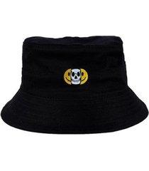 chapéu bucket skull clothing smile - masculino