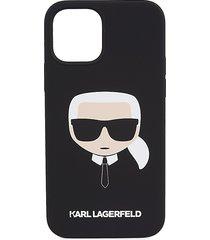 karl lagerfeld liquid silicone iphone 12/iphone 12 pro case