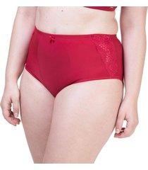 calcinha plus cinta cereja - 534.481 marcyn lingerie alta vermelho