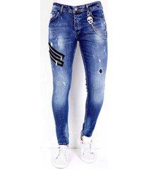 skinny jeans local fanatic jeans verfspatten