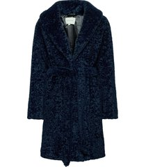 adrielle faux fur coat outerwear faux fur blauw by malina