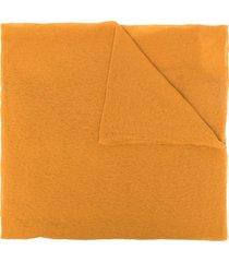 botto giuseppe lightweight cashmere scarf - orange
