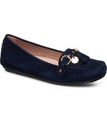 parma tassel loafers låga skor blå novita