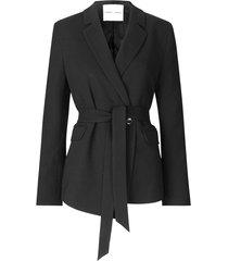 falina blazer in black