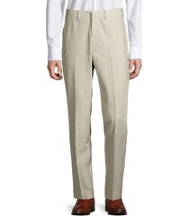bonobos men's jetsetter athletic-fit wool-blend striped seersucker pants - khaki - size 30 28