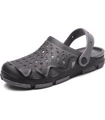 sandalias antideslizantes casuales para hombres zuecos de jardín zapatillas
