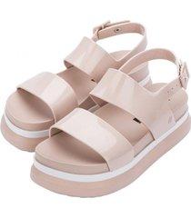 sandalia cosmic sandal ii casual rosa melissa