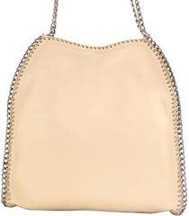 bolsa saco com correntes birô feminina
