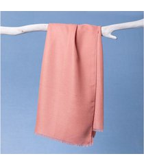 lenço laíze cor: rosa - tamanho: único