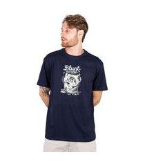 camiseta básica blunt beer - marinho camiseta básica blunt beer - p