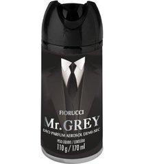 desodorante aerosol fiorucci mr. grey 170ml