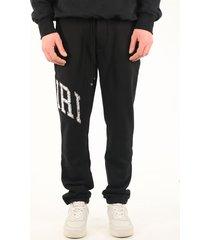 amiri trousers black