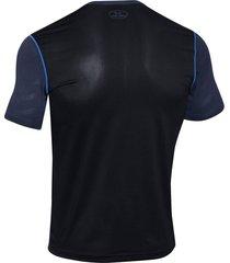 camiseta under armour raid exo jacquard-negro