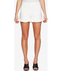 1.state ruffle-hem welt-pocket shorts