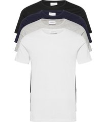 basic tee s/s t-shirts short-sleeved svart lindbergh