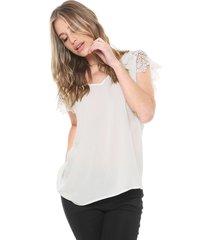 ef6f4c41b Vestuário - Com Renda - De Tecido - Branco Off White Preto - 1 ...