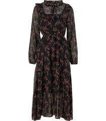 klänning objkristine l/s long dress