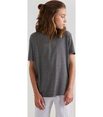 camiseta mini pf ft linho mar reserva mini preto - preto - menino - dafiti