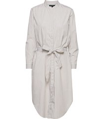 organic poplin shirtdress knälång klänning vit banana republic