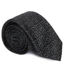 gravata slim - preto