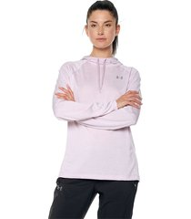 buzo morado-blanco under armour tech ls hoody 2.0- twist