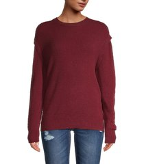 iro women's roby dropped-shoulder sweater - black - size 34 (2)