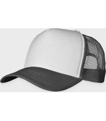 czapka (bez nadruku, gładka) - szara