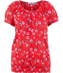 camicetta a maniche corte (rosso) - bpc bonprix collection