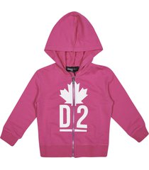 dsquared2 d2 zipped hoodie