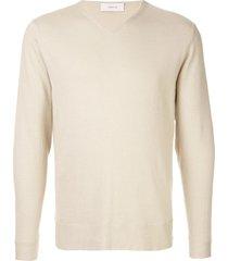 cerruti 1881 basic sweater - neutrals