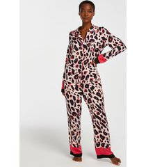 hunkemöller petite pyjamasbyxor duckie rosa