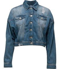 jila jacket jeansjacka denimjacka blå twist & tango