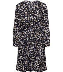 dresses light woven kort klänning blå edc by esprit