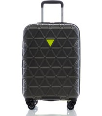 "guess fashion travel le disko 20"" hardside carry-on spinner"