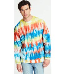 bluza z efektem tie-dye