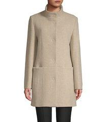 classic long-sleeve coat