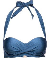 panos shine circe top bikinitop blå panos emporio