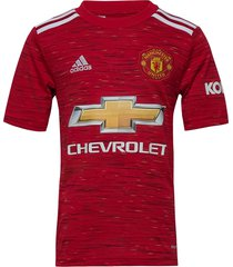 mufc h jsy y t-shirts football shirts rood adidas performance