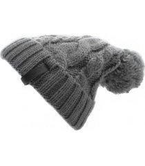 gorro de lana beanie gris flaw